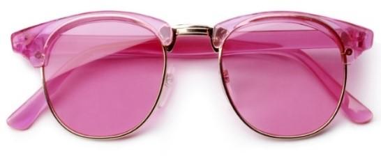 De kracht van de roze bril