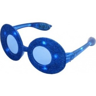 Blauwe bril