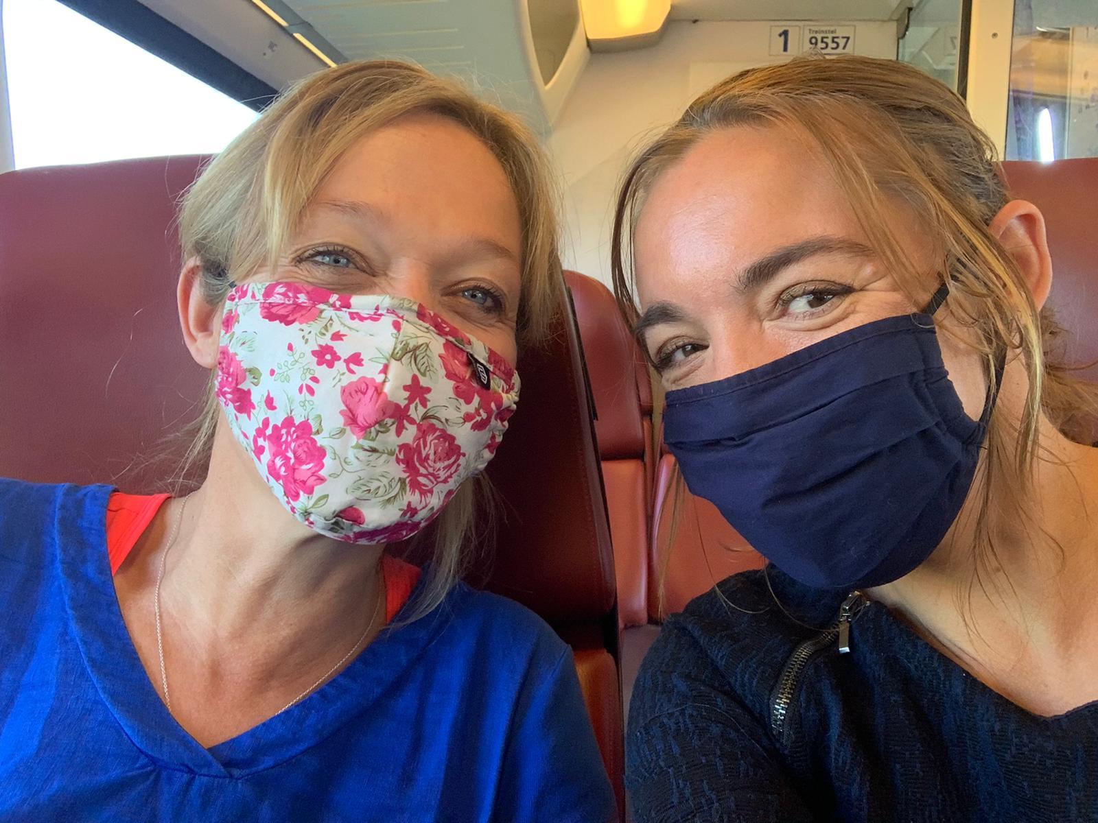 Dag van de Verpleging - in de trein